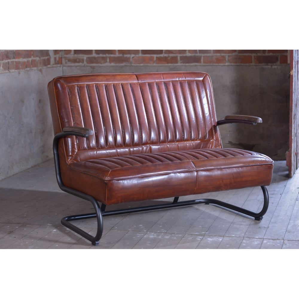 Leather Retro Sofa Hereo Sofa