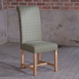 Brecon Lambswool Role Back Dinning Chair