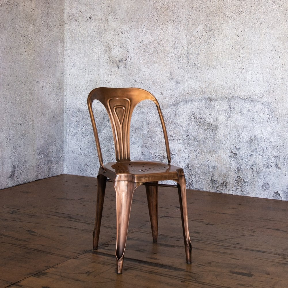 J N Rusticus Leith Copper Dining Chair