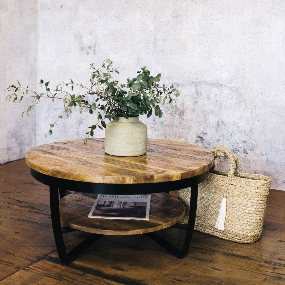 J N Rusticus Lowther Round Coffee Table Furniture From J N Rusticus Ltd Uk