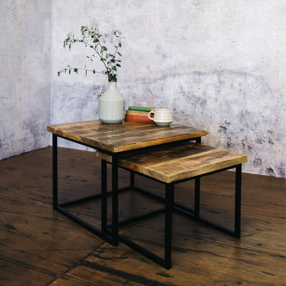 Lowther Square Coffee Table Set