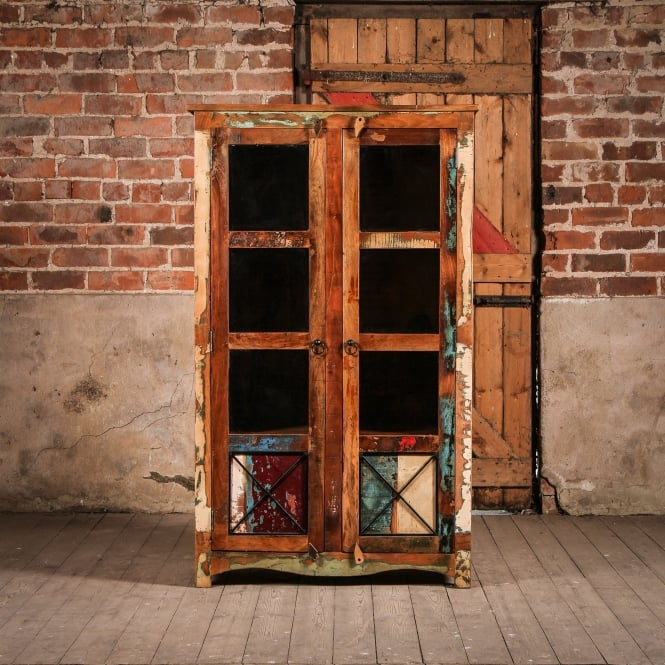 J.N. Rusticus Reclaimed Wooden Axis Cabinet