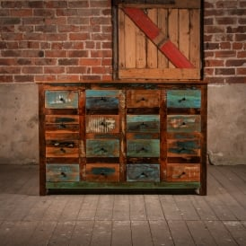 Reclaimed Wooden Warren Drawers