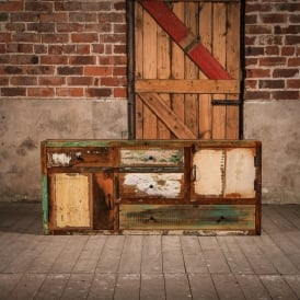 Reclaimed Wooden Woodland Cabinet