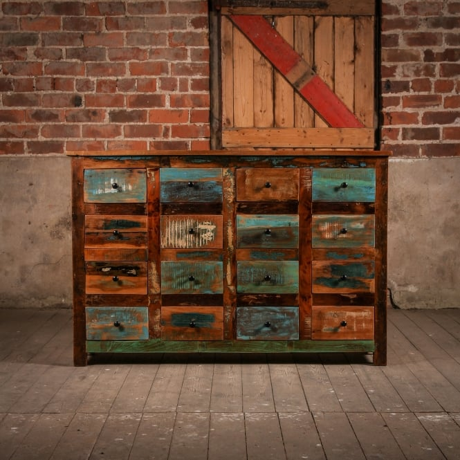 J.N. Rusticus Reclaimed Wooden Woodland Drawers