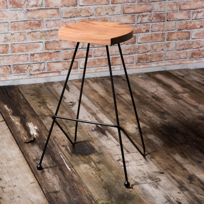 J.N. Rusticus Welles Bar Stool