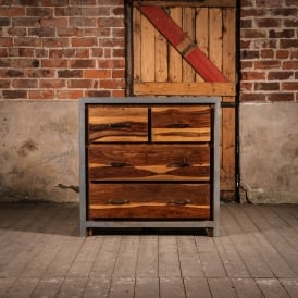 Wooden Concrete Fallow Drawers